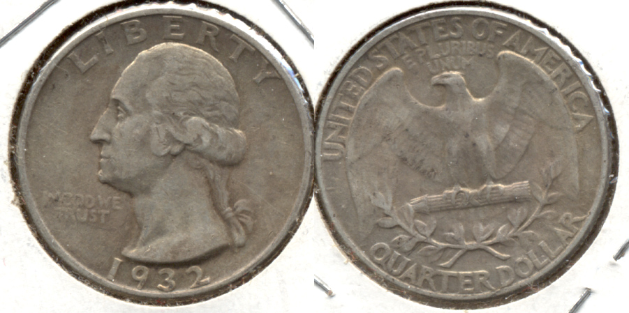 1932 Washington Quarter VF-20 o