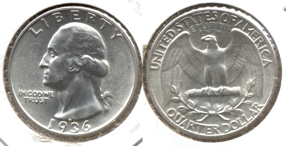 1936 Washington Quarter MS-60