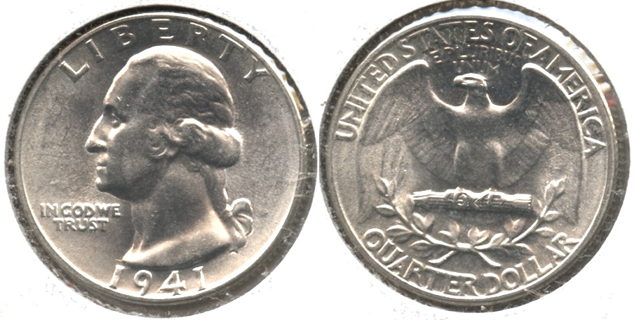 1941 Washington Quarter MS-63 #w