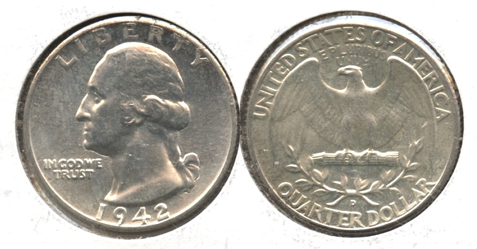 1942-D Washington Quarter MS-63