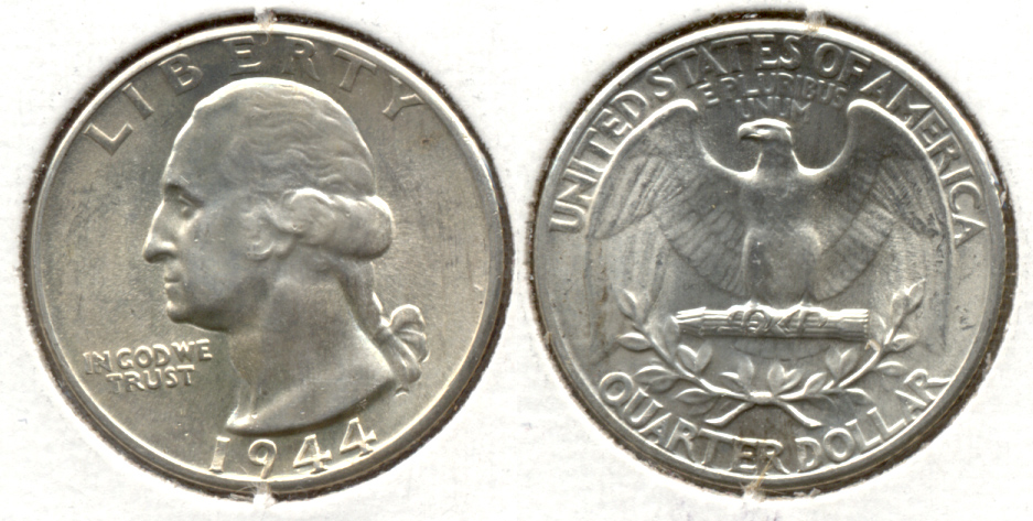 1944 Washington Quarter MS-60 a