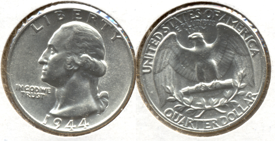 1944 Washington Quarter MS-60 n