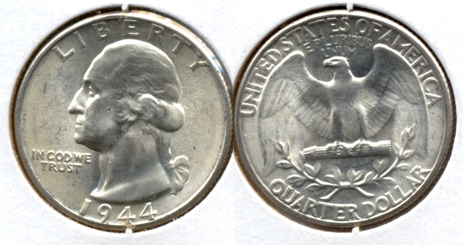 1944 Washington Quarter MS-60 p