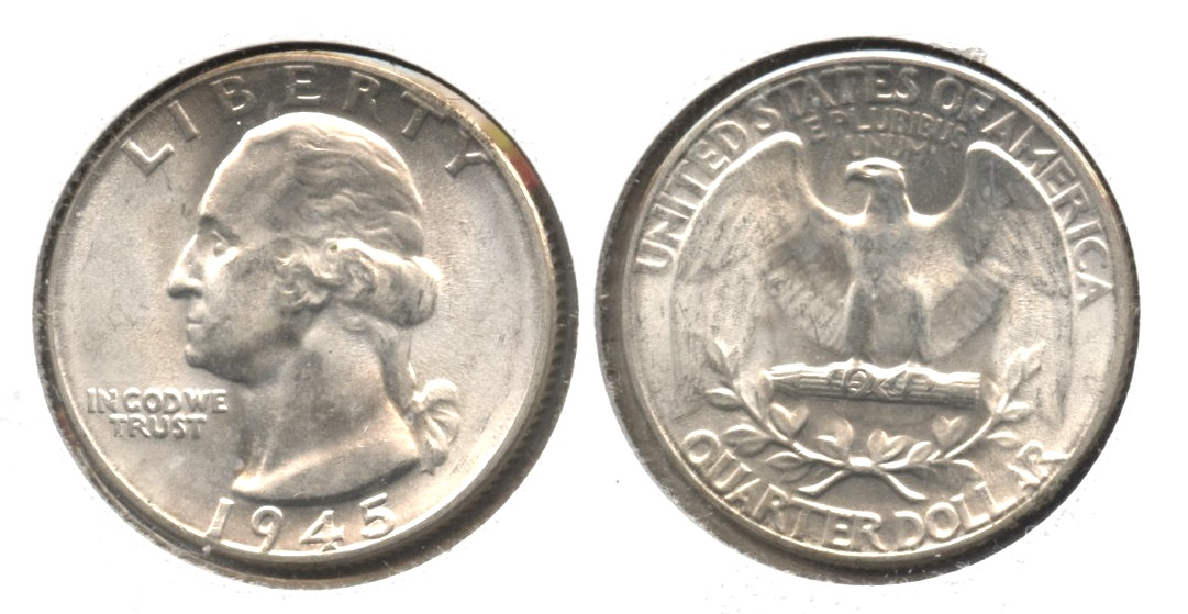 1945 Washington Quarter MS-63 #i
