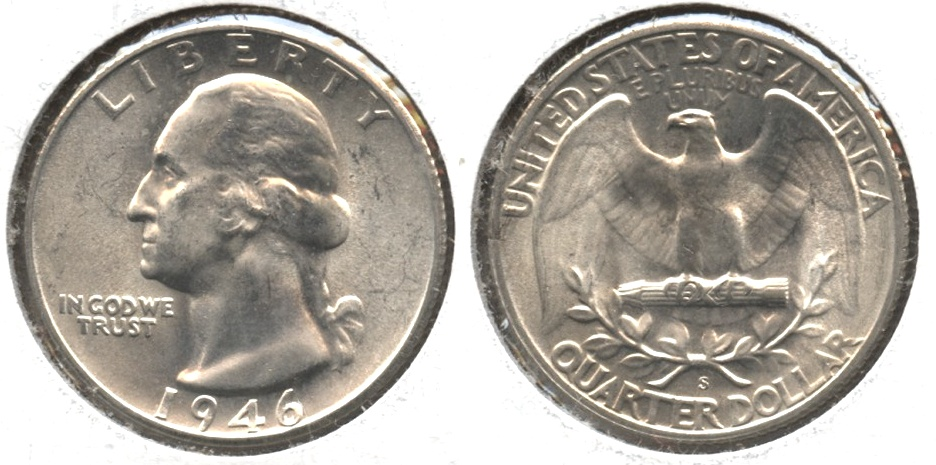 1946-S Washington Quarter MS-63 #a