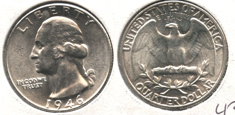 1946 Washington Quarter MS-64 #a