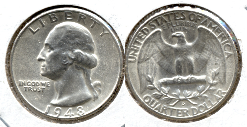 1948-D Washington Quarter MS-63 c
