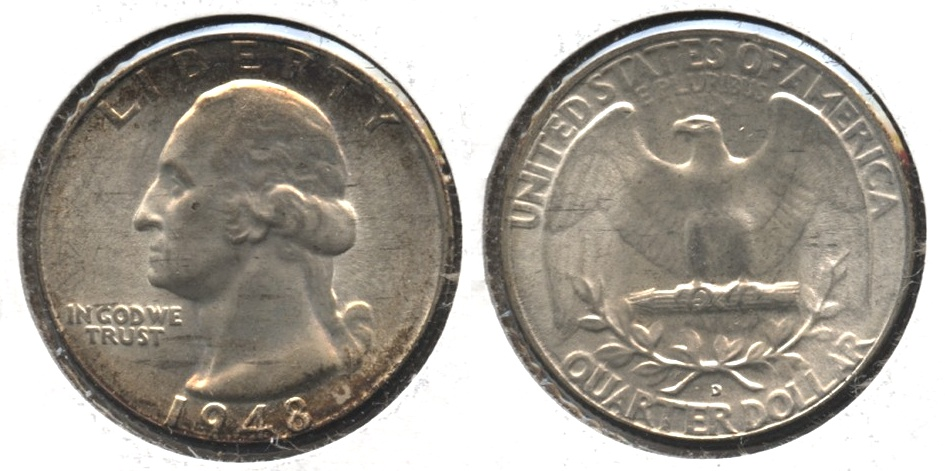 1948-D Washington Quarter MS-63 #l