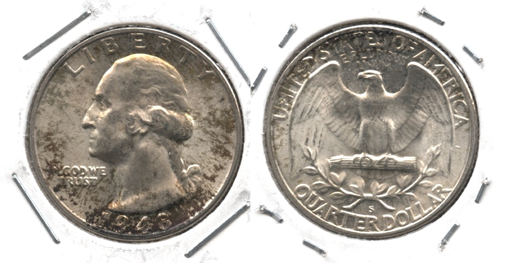 1948-S Washington Quarter MS-63 #h