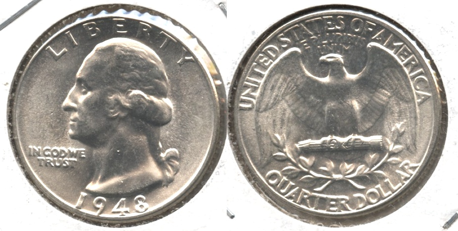 1948 Washington Quarter MS-64 #f