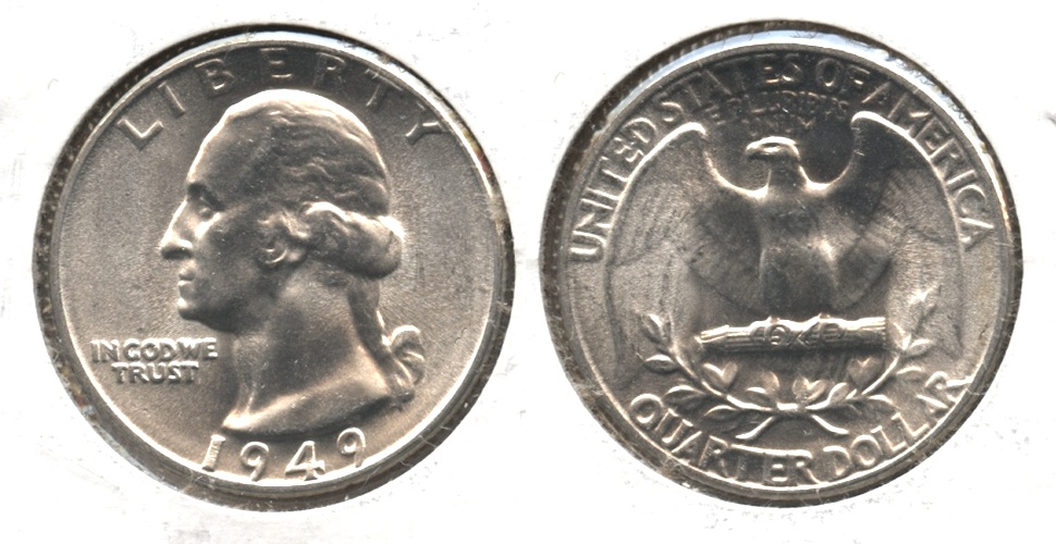 1949 Washington Quarter MS-64 #e