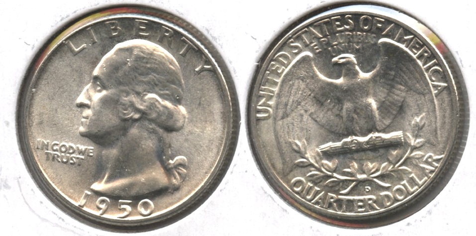 1950-D Washington Quarter MS-63 #c