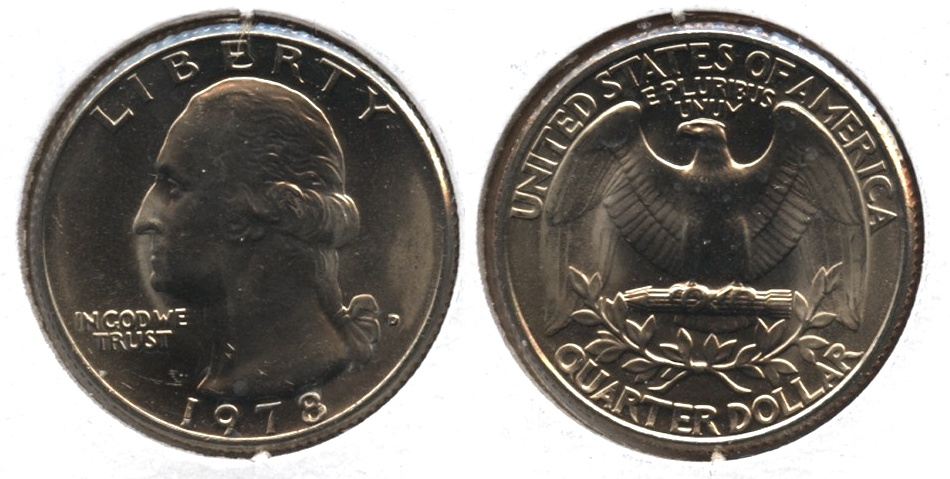1978-D Washington Quarter Mint State