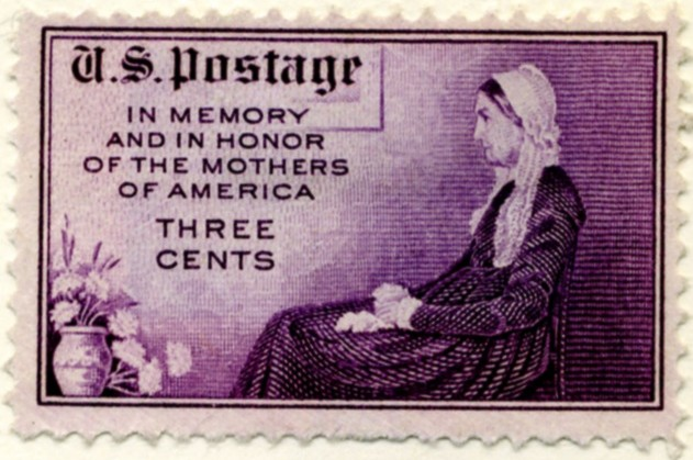 Scott 737 3 Cent Stamp Mother's Day Perforated 11x10 1/2 a
