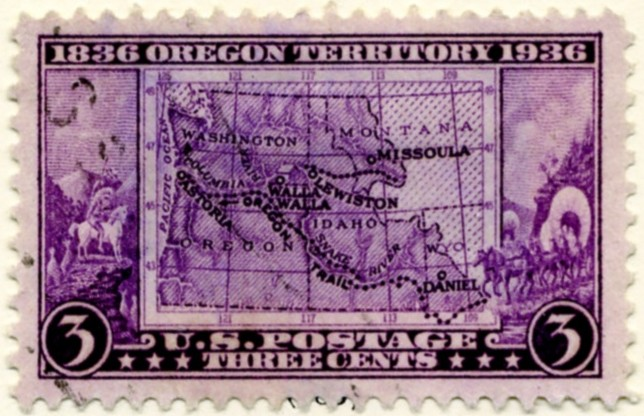 Scott 783 3 Cent Stamp Oregon Territory Centennial a