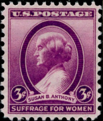 Scott 784 3 Cent Stamp Susan B. Anthony