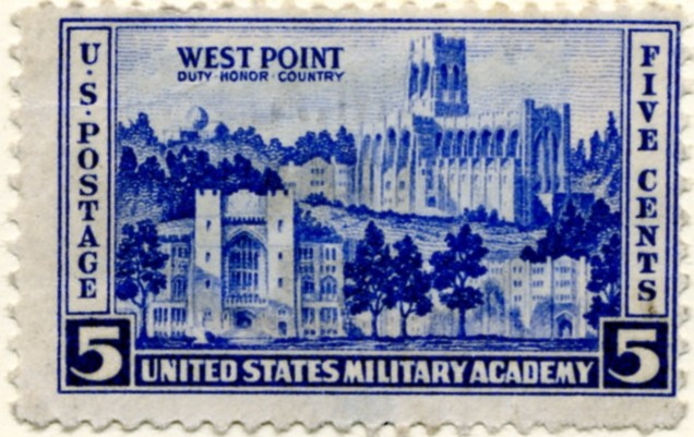 Scott 789 5 Cent Stamp West Point Military Academy a