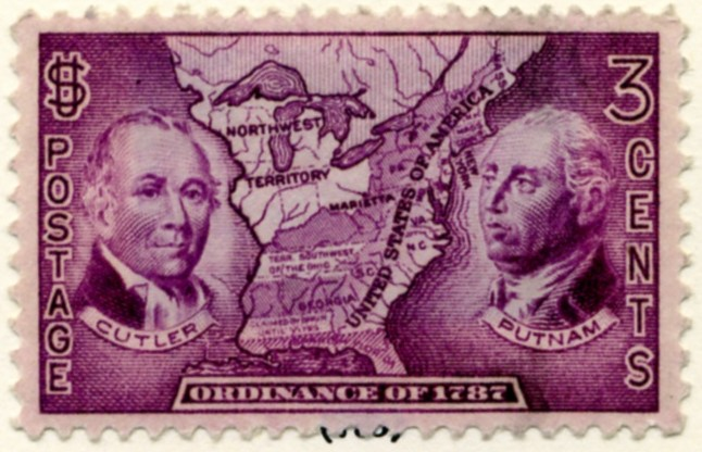 Scott 795 3 Cent Stamp Ordinance of 1787 a
