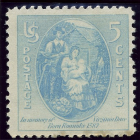 Scott 796 5 Cent Stamp Virginia Dare
