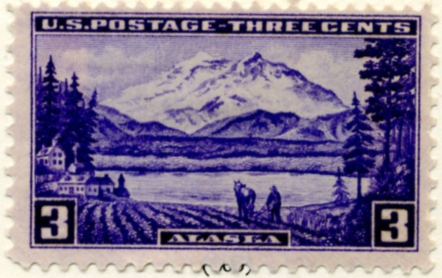 Scott 800 3 Cent Stamp Alaska a