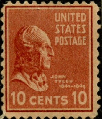 Scott 815 10 Cent Stamp John Tyler