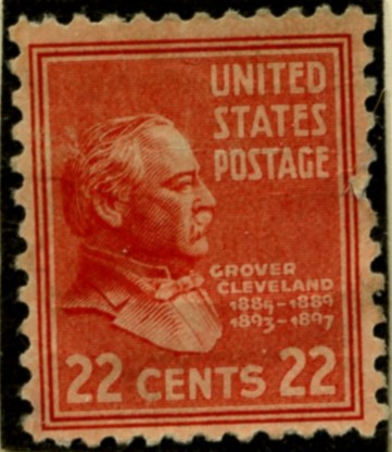 Scott 827 22 Cent Stamp Grover Cleveland