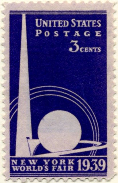Scott 853 3 Cent Stamp New York World's Fair a