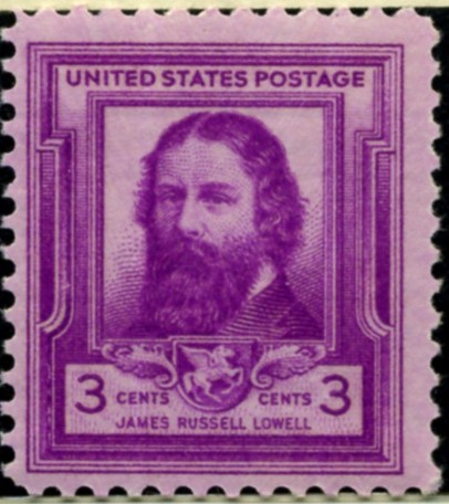 Scott 866 3 Cent Stamp James Russell Lowell