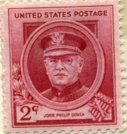 Scott 880 2 Cent Stamp John Phillip Sousa