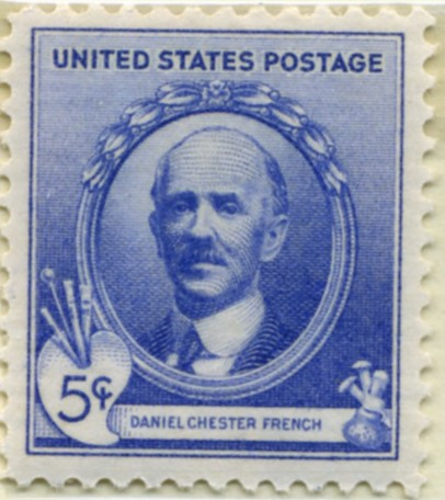 Scott 887 5 Cent Stamp Daniel Chester French