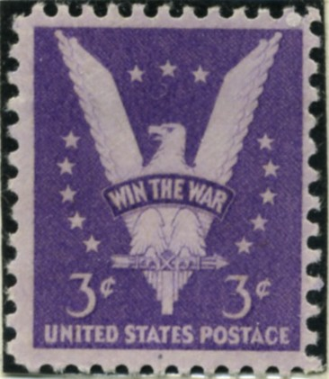 Scott 905 3 Cent Stamp Win The War