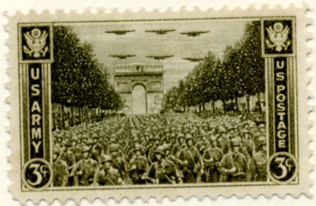 Scott 934 3 Cent Stamp Army - Victory March a