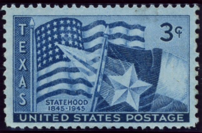 Scott 938 3 Cent Stamp Texas Statehood Centennial