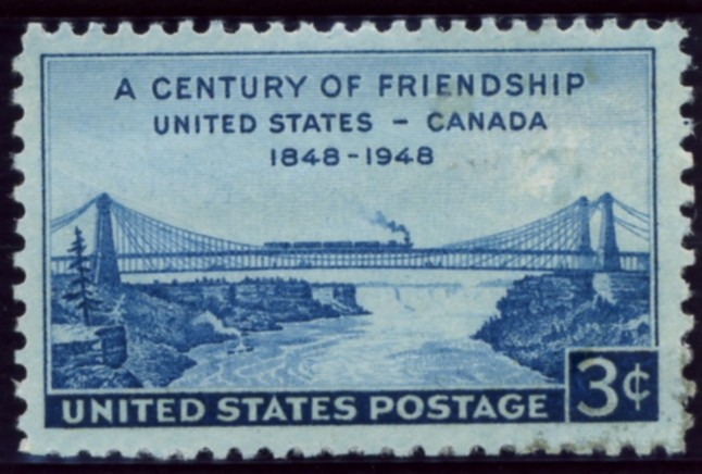 Scott 961 3 Cent Stamp U S Canada Century of Friendship