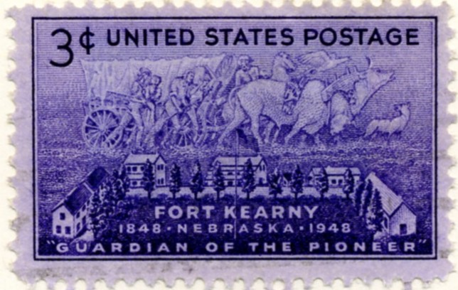 Scott 970 3 Cent Stamp Fort Kearney a
