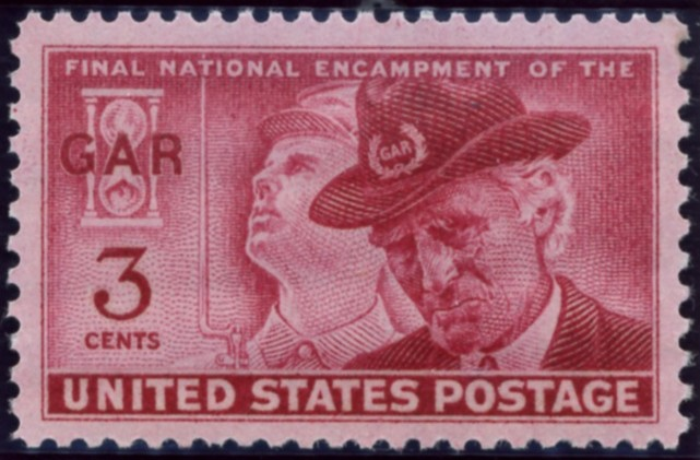 Scott 985 3 Cent Stamp G A R Grand Army of the Republic Final Encampment