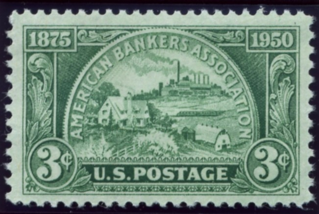 Scott 987 3 Cent Stamp American Bankers Association