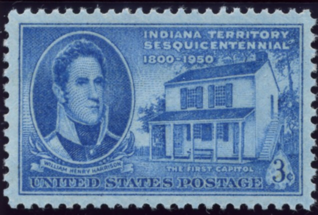 Scott 996 3 Cent Stamp Indiana Territory Sesquicentennial