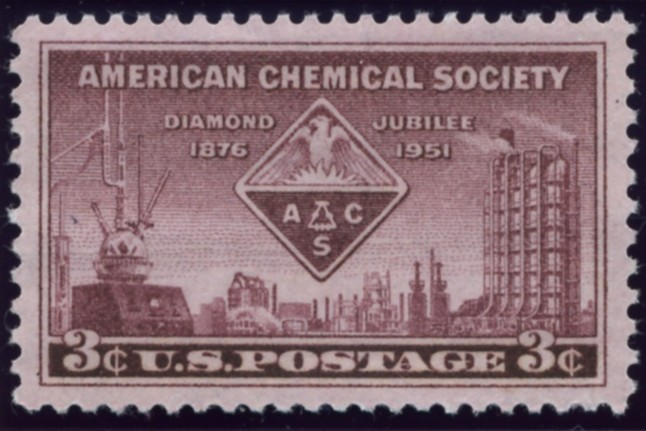 Scott 1002 3 Cent Stamp American Chemical Society