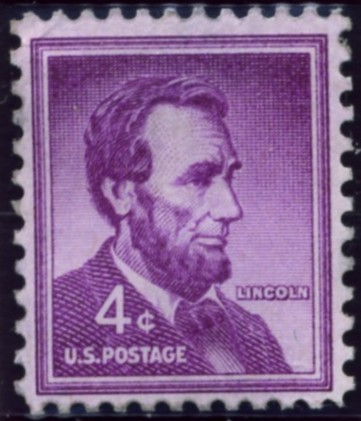 Scott 1036 4 Cent Stamp Abraham Lincoln