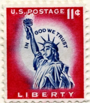 Scott 1044a 11 Cent Stamp Statue of Liberty a