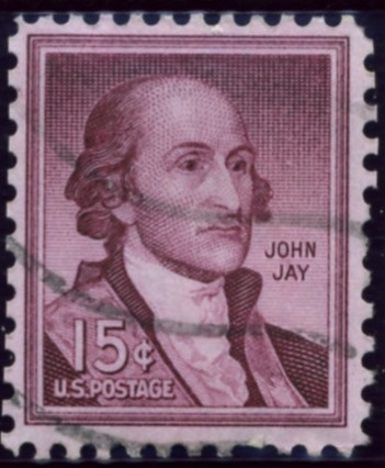 Scott 1046 15 Cent Stamp John Jay