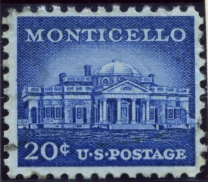 Scott 1047 20 Cent Stamp Monticello