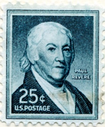 Scott 1048 25 Cent Stamp Paul Revere a