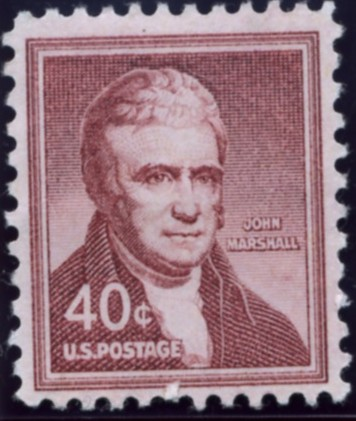 Scott 1050 40 Cent Stamp John Marshall