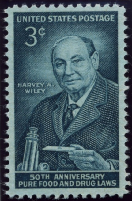 Scott 1080 3 Cent Stamp Harvey Wiley Pure Food and Drug Act