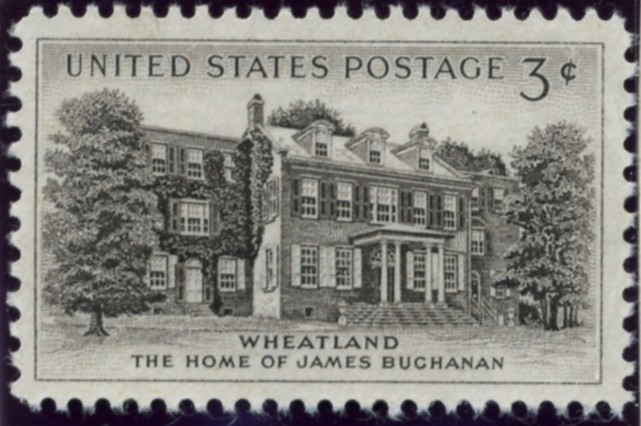 Scott 1081 3 Cent Stamp Wheatland Home of James Buchanan