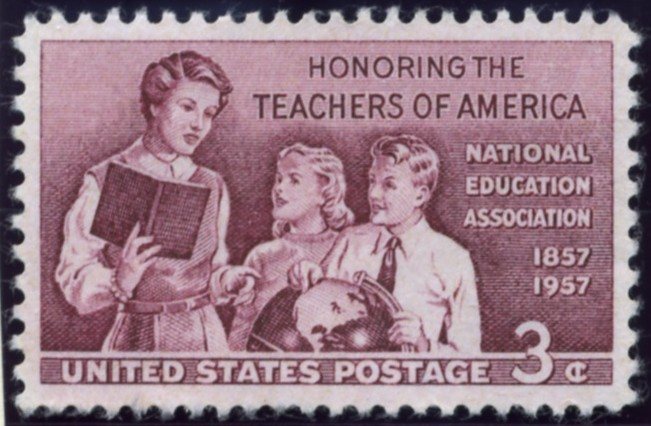 Scott 1093 3 Cent Stamp Teachers of America National Education Association