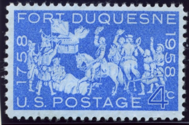 Scott 1123 4 Cent Stamp Fort Duquesne