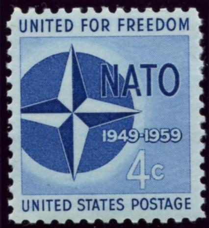 Scott 1127 4 Cent Stamp NATO